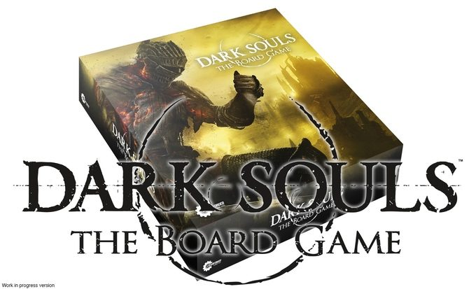Dark Souls The Boardgame - Cover