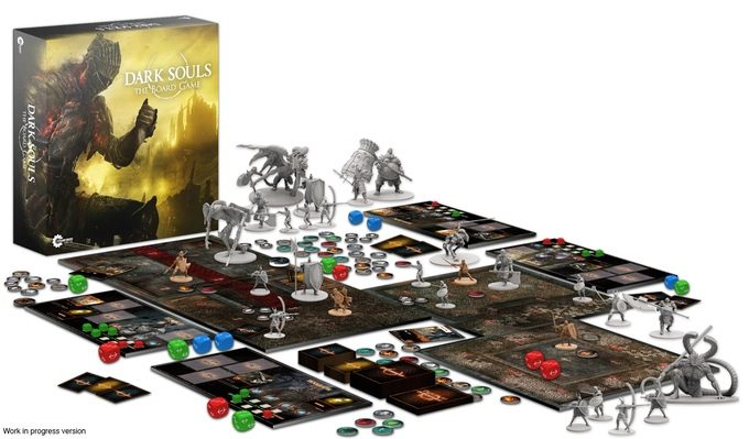 Dark Souls The Boardgame - View