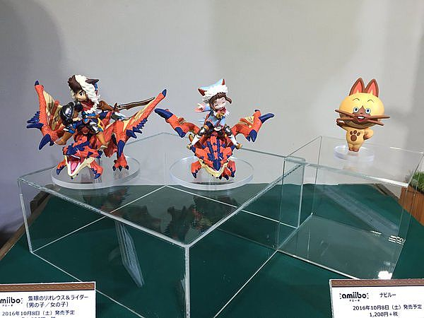 monster hunter stories amiibo