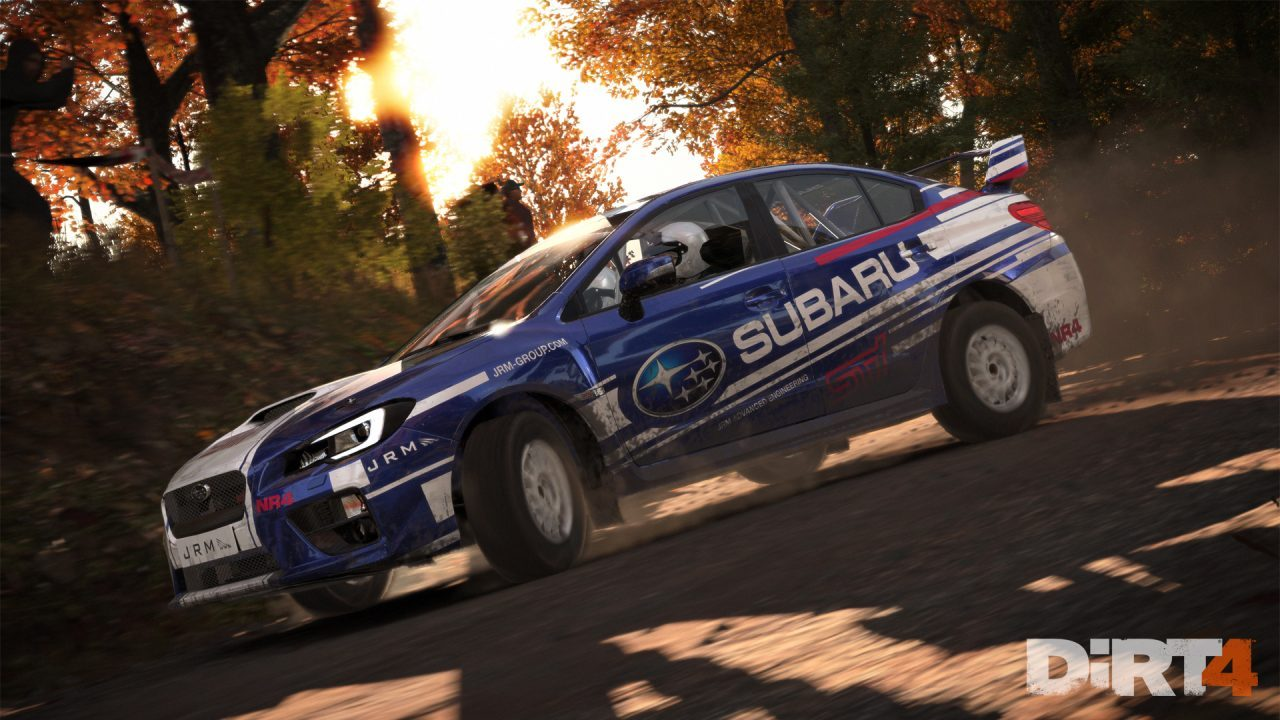 DiRT 4 e le migliorie su PlayStation 4 Pro