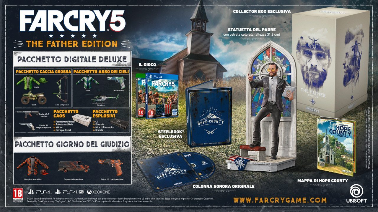 E3 2017: Far Cry 5 si mostra in un primo video gameplay