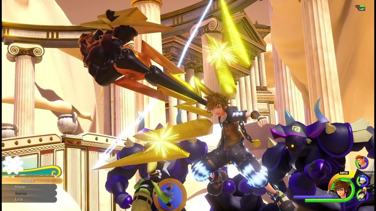 E3 2017: nuovo trailer con sequenze di gameplay per Kingdom Hearts 3