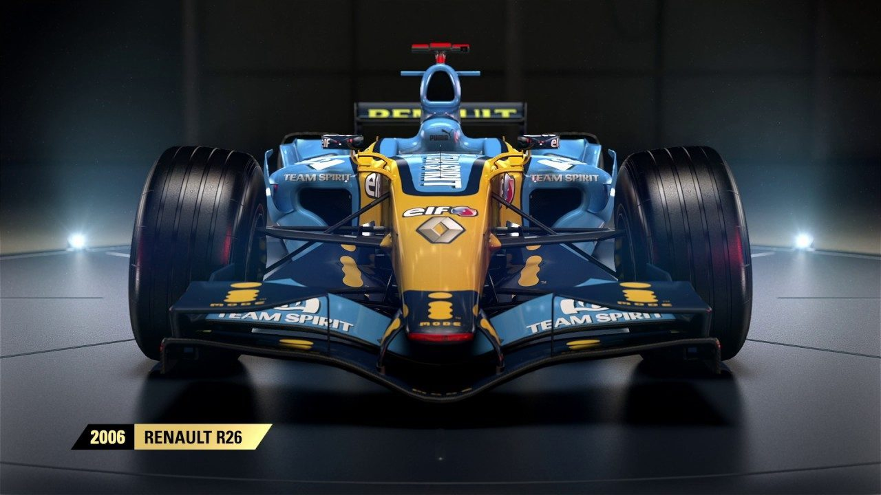 f1 2017 la renault r26 mostrata in un trailer news playstation 4 xbox one console tribe. Black Bedroom Furniture Sets. Home Design Ideas