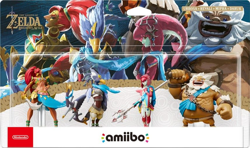 The Legend of Zelda: Breath of the Wild - Il 4-Pack Champions ...