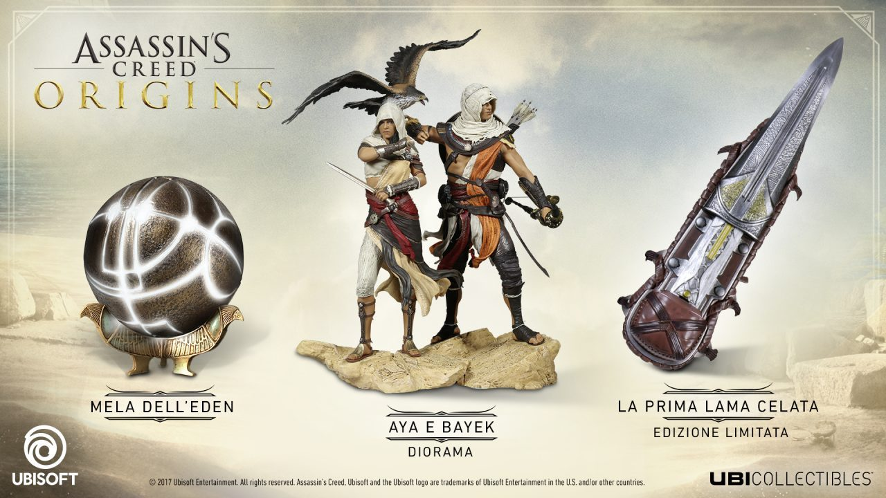 Ubisoft porta Assassin's Creed Origins in tour a Roma e Milano