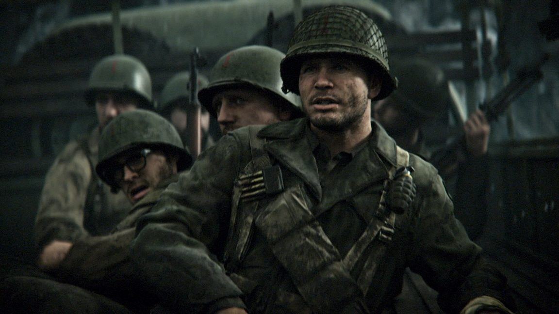 Il trailer della campagna di Call of Duty WW2 è adrenalinico
