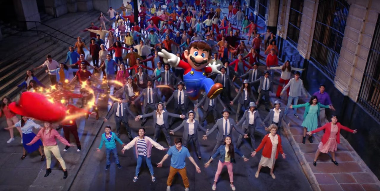 Il video musicale di Super Mario Odyssey