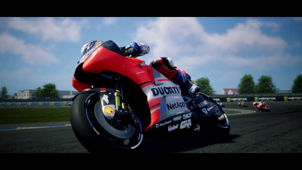 motogp 18 nuovo trailer di gameplay e tanti nuovi. Black Bedroom Furniture Sets. Home Design Ideas