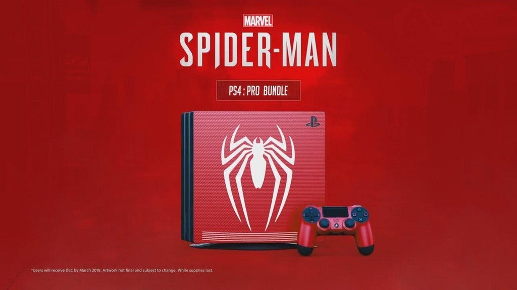 Spunta una PlayStation 4 Pro a tema Spider-Man