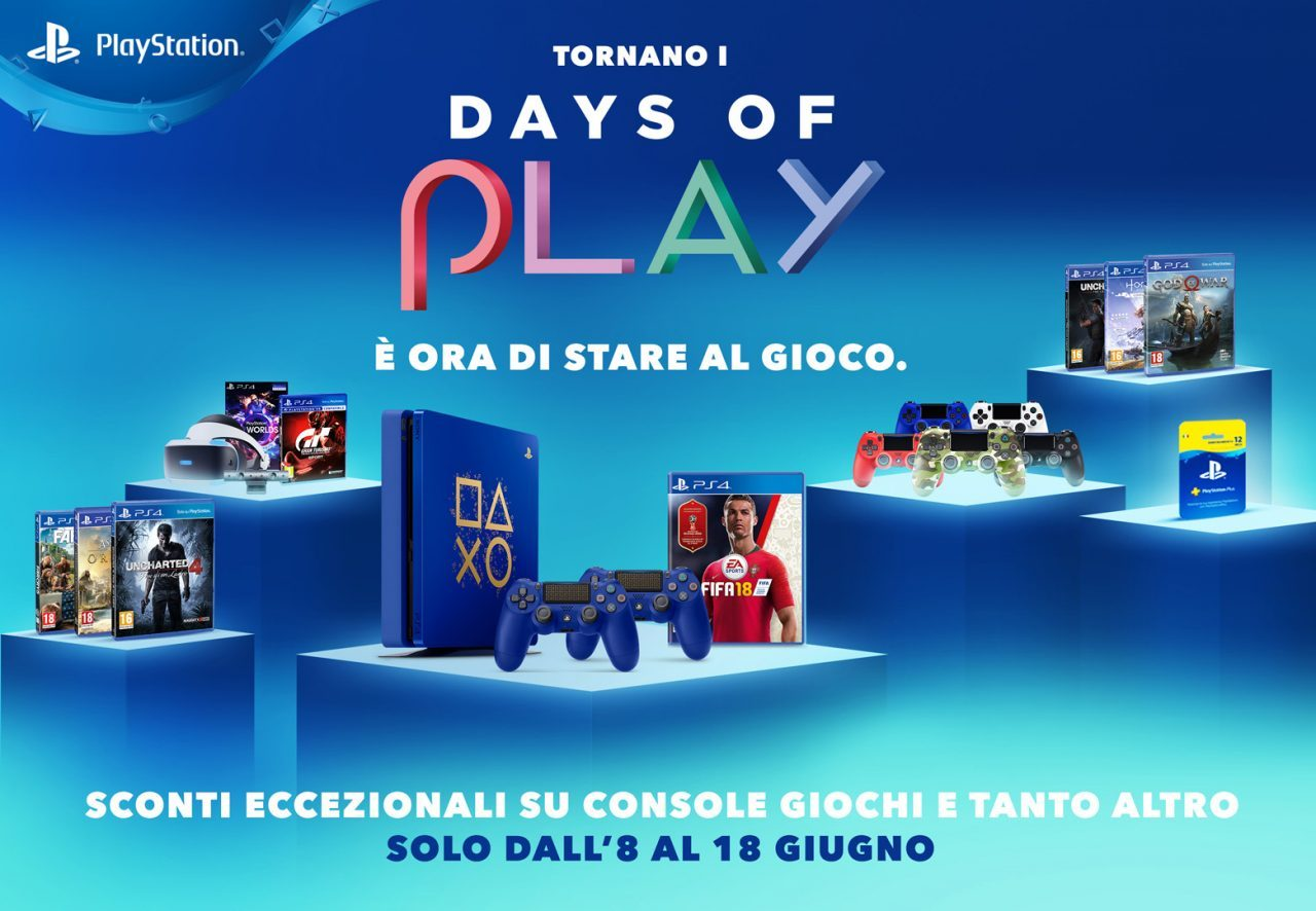 Sony Days Of Play 2018: Le Migliori Offerte Su Amazon