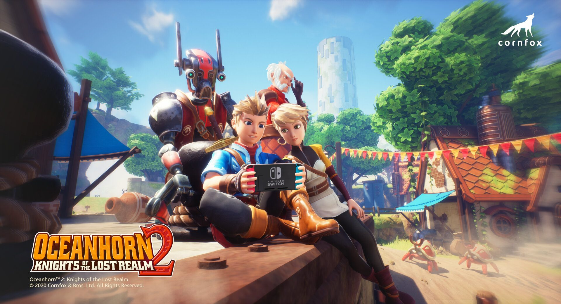 Oceanhorn 2: Knights of the Lost Realm annunciato per Nintendo Switch -  News Nintendo Switch | Console-Tribe